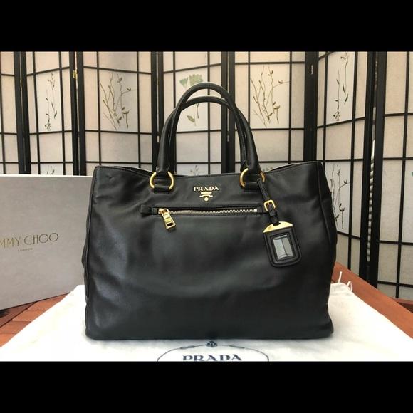 4d37ef3b62f4 Prada Bags | Soft Calfskin Leather Tote Bag Bn2103 | Poshmark